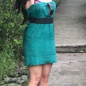 Beautiful blue/green & black dress or coverup 💙